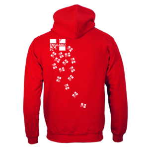 England Fencign Zoodie/Hoodie Back