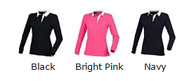 rugby top colours women