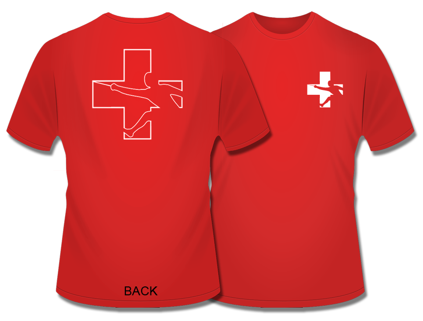 Swiss Fencers Stay Cool In Technical Wicking T Shirt From