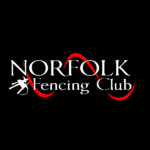 Norfolk fencing club swoosh