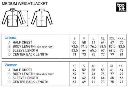 Sizes Multi-Active jacket