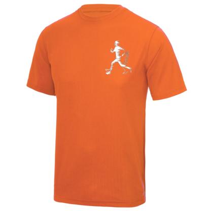 Didcot H3 Technical T-shirt Children Orange