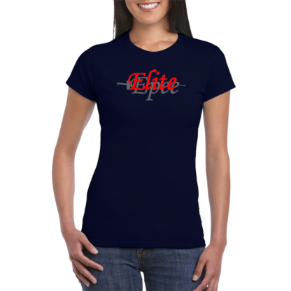Elite epee cotton T-shirt womens fit