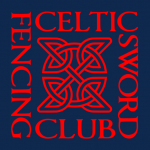 Celtic sword fencing club logo