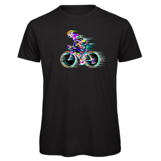Road cyclist T-shirt