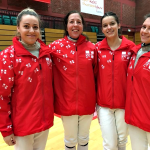 England Fencing girls