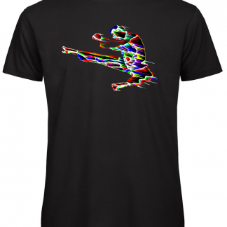 Karate kick jump t-shirt