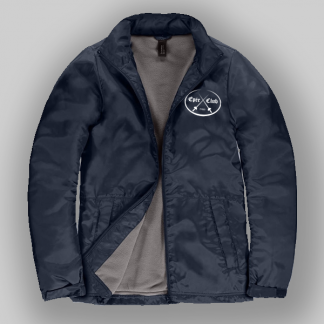 Epee club jacket in navy