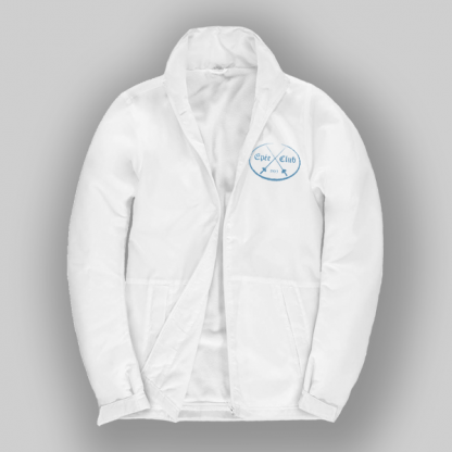 Epee club jacket in white