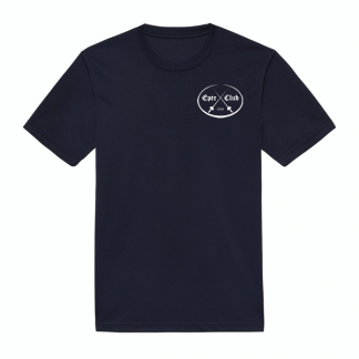 epee club navy wicking T-shirt